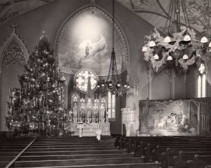 F & S Altar Xmas 1945