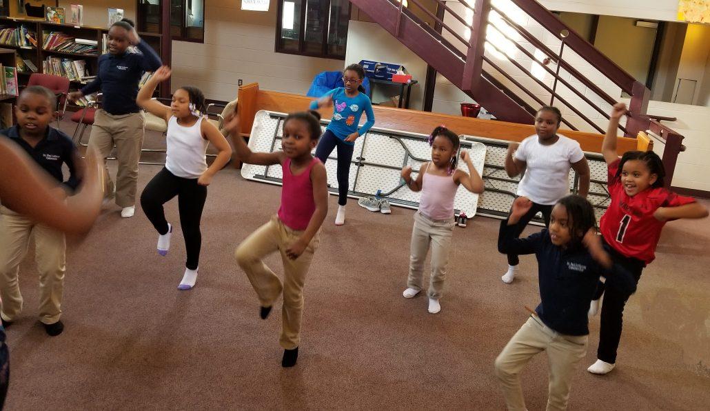 Movement & Dance Class at St. Paul Lutheran School Catonsville